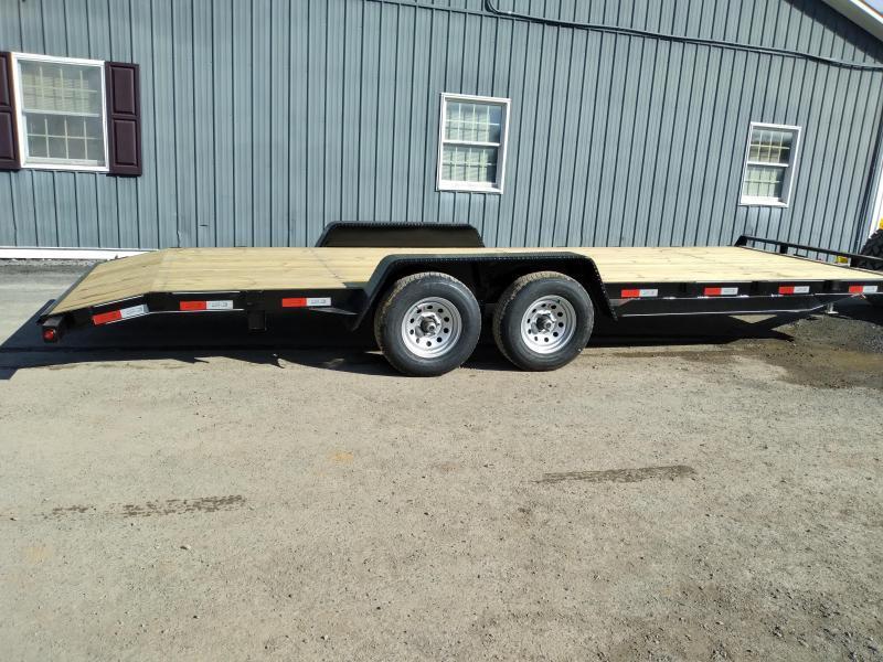 Quality Trailers General Duty Wood Deck SidexSide 22' - 9990 GVWR