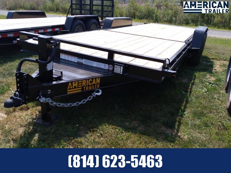 """American Trailer Pro Grade Split Tilt Equipment 22' 6"""" - 15,000 GVWR"""