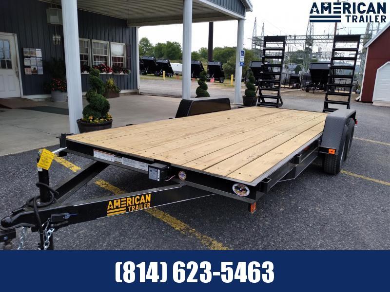 American Trailer Economy Equipment 18' - 9990 GVWR