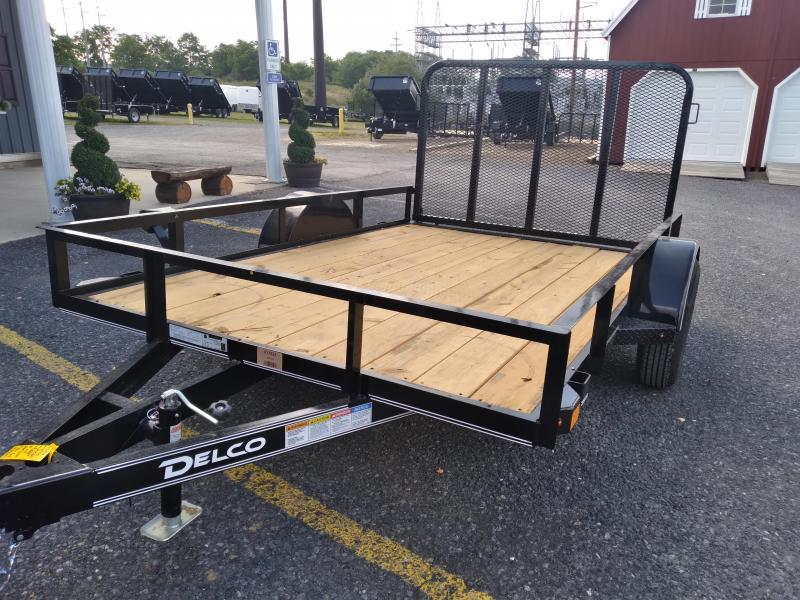 """Delco Trailers Utility 10'x77"""" - 2990 GVWR"""