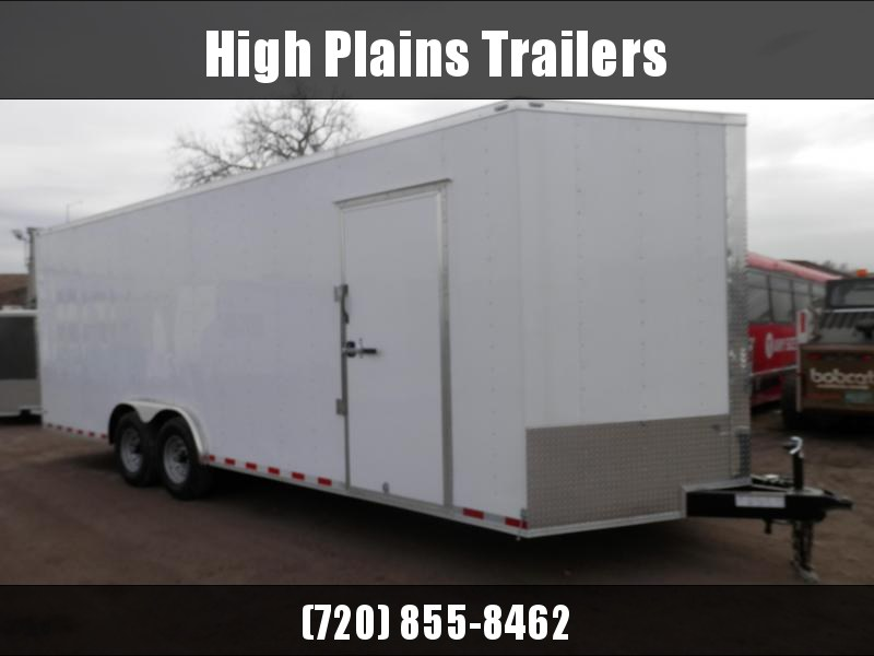2021 Lark 8.5x24 Tandem Axle Enclosed Cargo Trailer