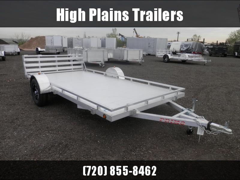 2021 Primo 7X14 W/ Low Profile Sides Trailer
