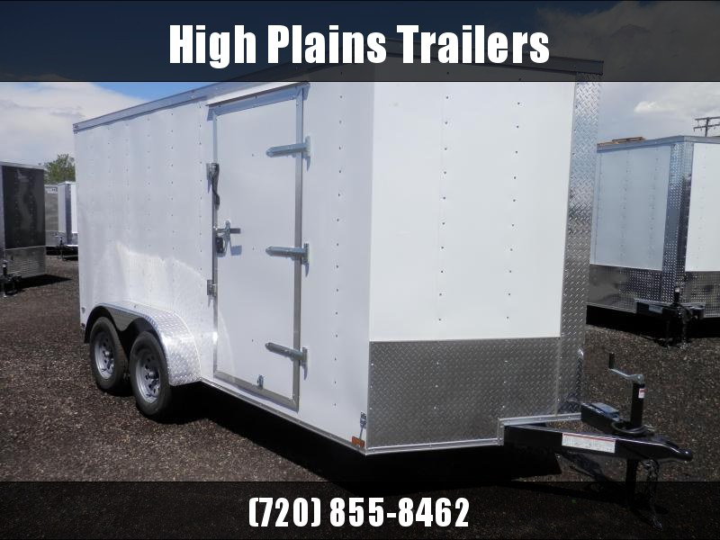 2021 Lark 7x14 Tandem Axle Enclosed Cargo Trailer
