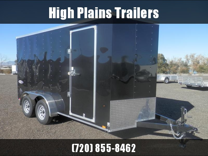 2022 Look 7x14 Tandem Axle Enclosed Cargo Trailer