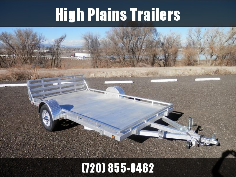 2021 Primo 7X12 W/ Low Profile Sides Trailer