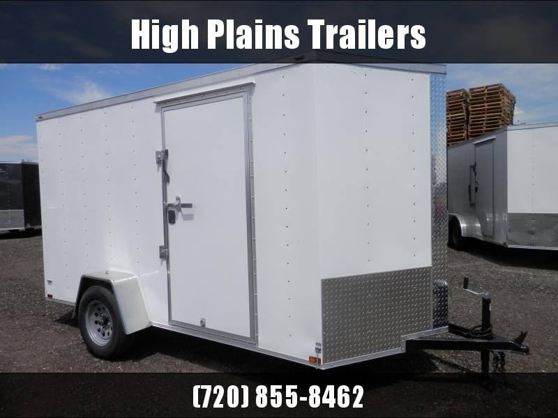 2021 Lark 6x12 Single Axle Enclosed Cargo Trailer