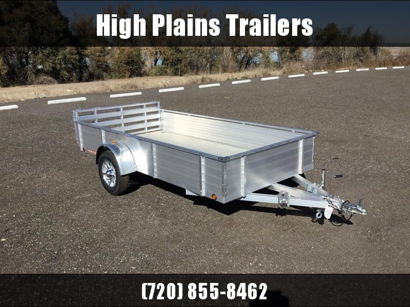 """2021 Primo 6X12 18"""" Solid Side Utility Trailer"""
