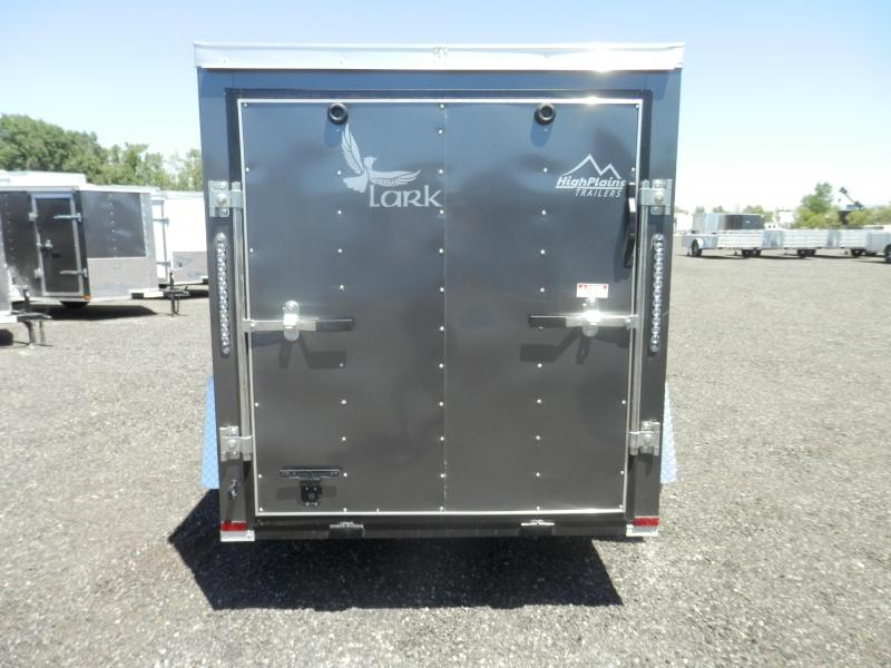 2021 Lark 5x8 Single Axle Enclosed Cargo Trailer