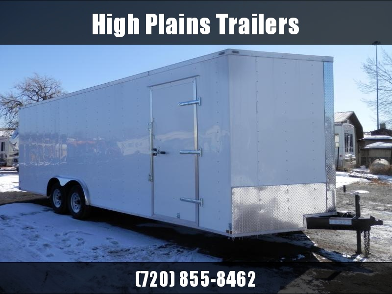 2021 Lark 8.5x20 Tandem Axle Enclosed Cargo Trailer