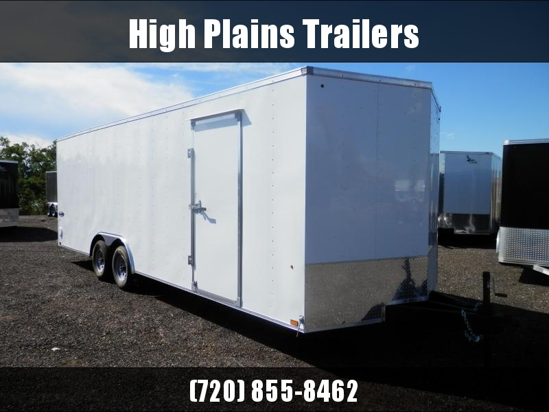 2022 Look 8.5x24 5200 lb. Tandem Axle Enclosed Cargo Trailer