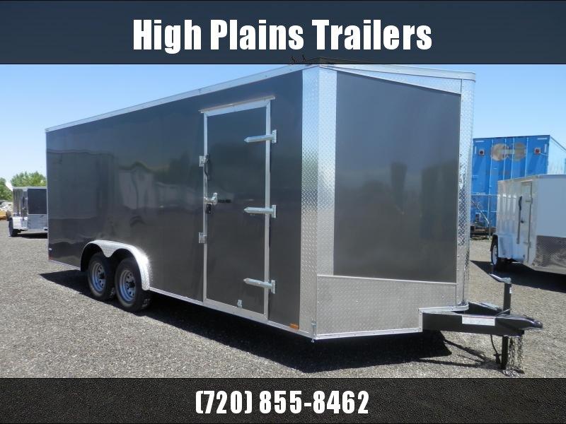 2021 Lark 8.5X20 Tandem 5200 lb. Axle Enclosed Cargo Trailer