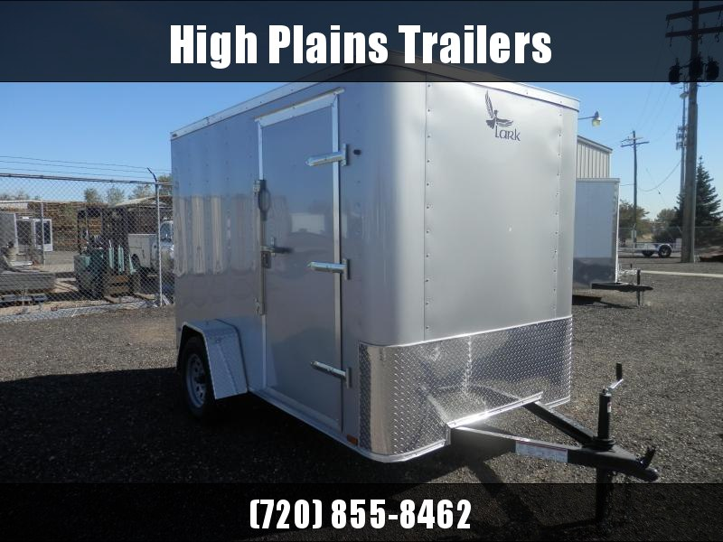 2021 Lark 6x10  Single Axle  Enclosed Cargo Trailer