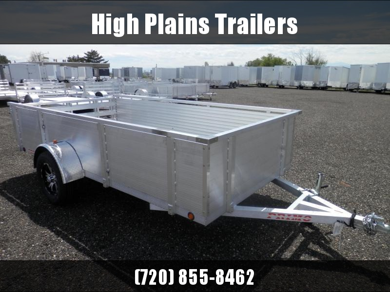 """2021 Primo 6X12 26"""" Solid Side Utility Trailer"""