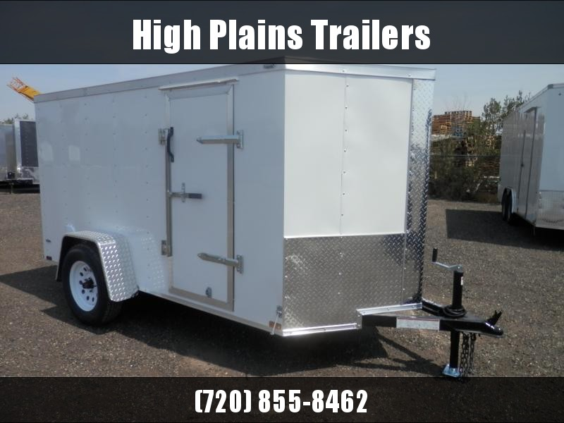 2021 Lark 5x10 Single Axle Enclosed Cargo Trailer