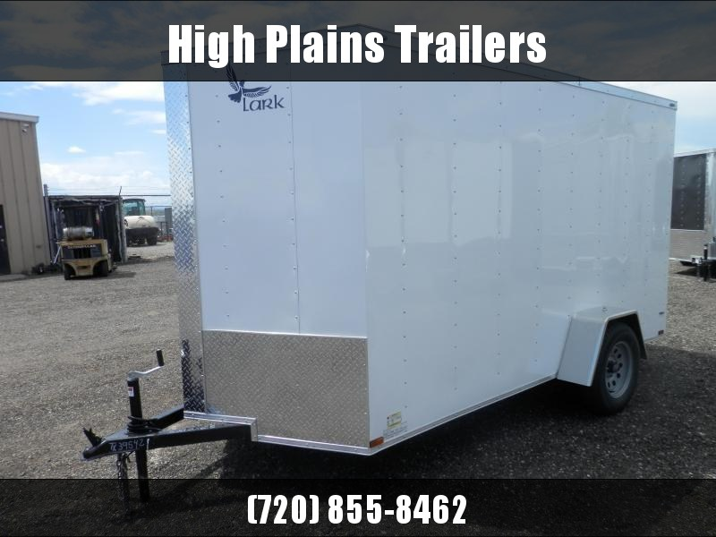 2021 Lark 6x12 Single Axle w/Brakes  Enclosed Cargo Trailer