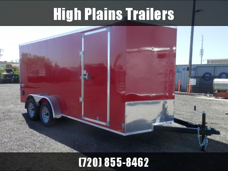 2022 Look 7x16 Tandem Axle Enclosed Cargo Trailer
