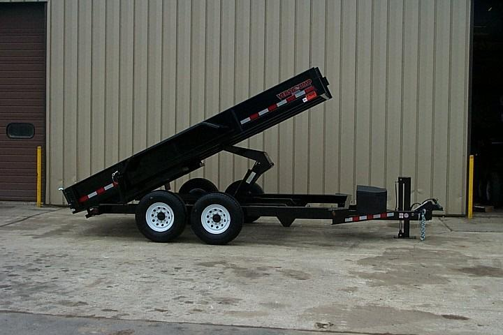 2021 Midsota HV-12 Dump Trailer W/Roll Tarp  On Board Battery Charger