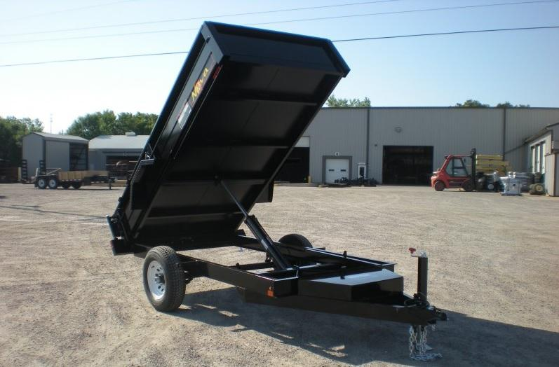 2021 Midsota Nova Series DT6010SA Dump Trailer W/5200lb axle rolled tarp