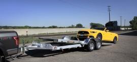 2021 Aluma 8216TILT-TA-EL-RTD Utility Trailer