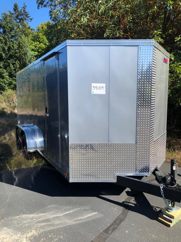 """2022 Pace American Journey SE 7x16 W/ 6"""" Additional Height Enclosed Cargo Trailer"""