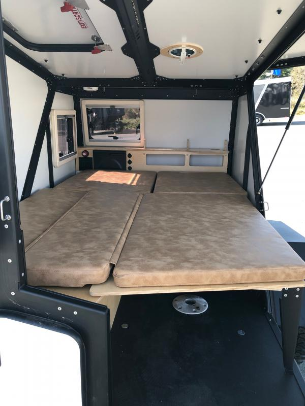 2021 Taxa Outdoors TigerMoth Travel Trailer RV W/Roof Racks, Soft Goods PKG and Tongue Tool Box
