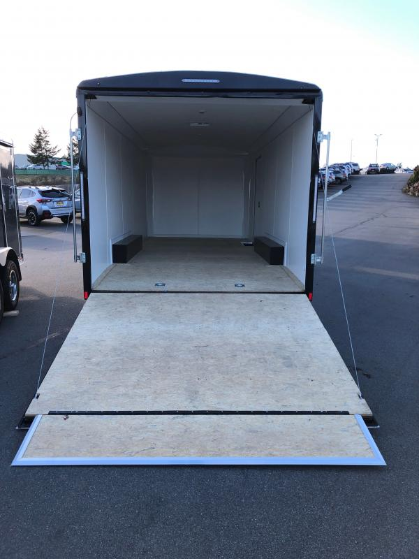 2021 Pace American Cargo Sport 8.5x20 W/High Performance white Vinyl Walls and Ceiling Roof Vent Car / Racing Trailer