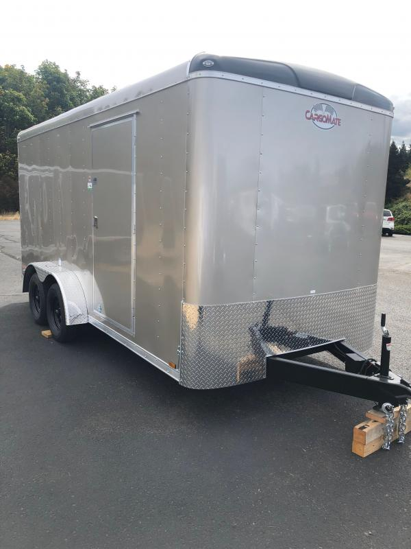 """2022 Cargo Mate Blazer Series W/6"""" Additional Height, Rear Ramp Door, D-Rings Enclosed Cargo Trailer"""