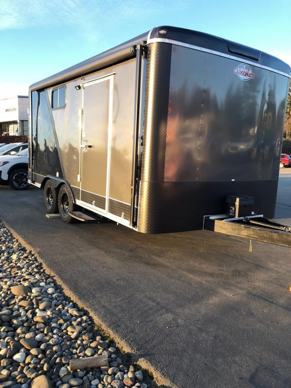 2021 Cargo Mate Blazer 8x16 W/Discovery Trail PKG Enclosed Cargo Trailer