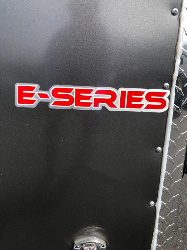 "2022 Cargo Mate E-Series 7x14 W/ 6"" additional Height, Rear Ramp Door, Stabilizer Jacks, D-Rings, 36""RV Door Upgrade Enclosed Cargo Trailer"