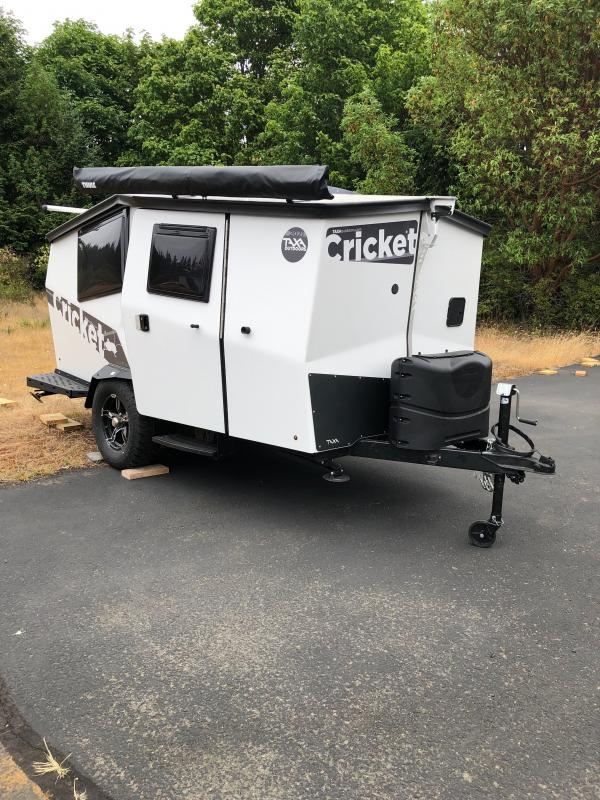 2021 Taxa Outdoors Cricket W/ Kids Berth Sets, Thule Load Bars, Soft Good Package, Portable Toilet Travel Trailer RV