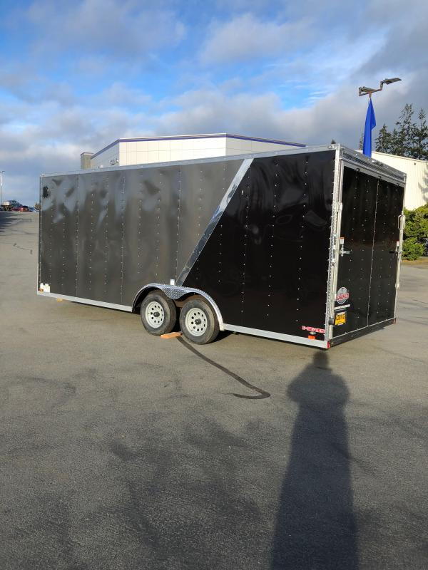 "2021 Cargo Mate E-Series 8.5x20 W/36"" RV Door Upgrade 6"" Additional Height  Enclosed Cargo Trailer"