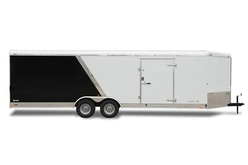"2020 Cargo Mate Blazer 8.5x16 Wide Body Enclosed Cargo Trailer W/ Wide Body Design 6"" Additional Height Rear Step Bumper"