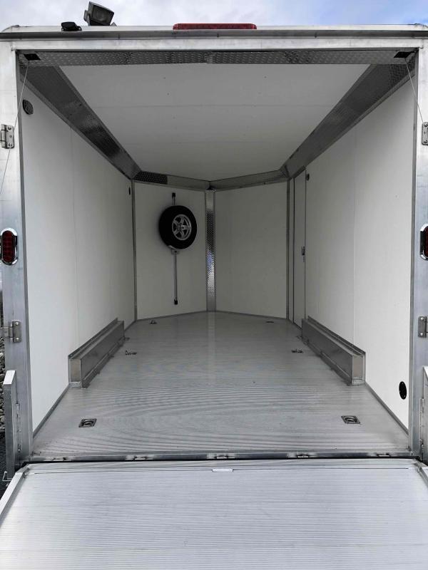 2021 Aluma AE714TA 7.5x14 W/Sport PKG Enclosed Cargo Trailer