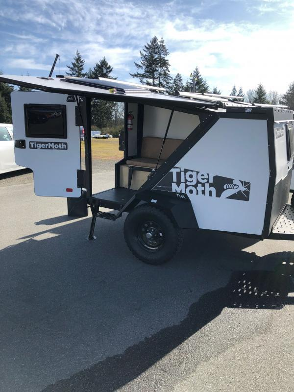 2021 Taxa Outdoors TigerMoth Travel Trailer RV W/Roof Racks, Soft Goods PKG ,Tongue Tool Box and Propane PKG