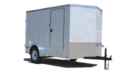 "2021 Pace American Journey 6x12 V-Front 6"" additional Height"