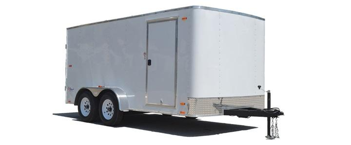 2020 Pace American 7X16 Outback W/ Rear Ramp Door Enclosed Cargo Trailer