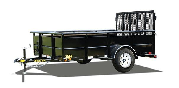 2021 Big Tex Trailers 35SV-10 Utility Trailer