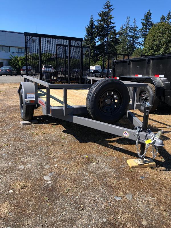 2021 Midsota UT628 5X8  Utility Trailer
