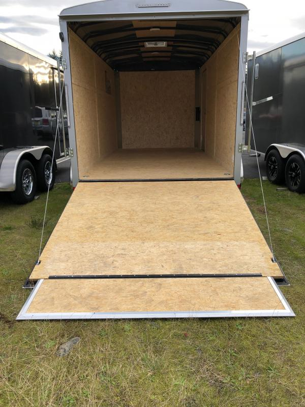 """2021 Pace American 7X14 Enclosed Cargo Trailer W/6"""" Additional Height"""