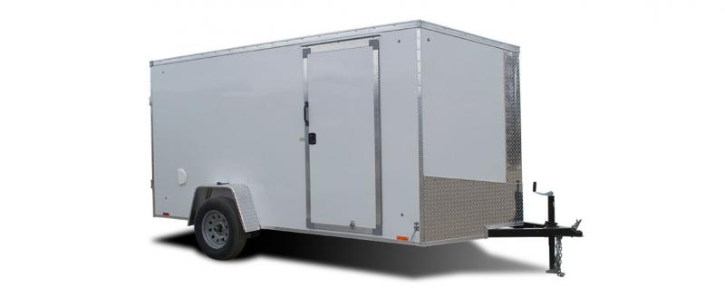 2020 Pace American Journey 6X10 V-Front W/ Rear Ramp Door Enclosed Cargo Trailer