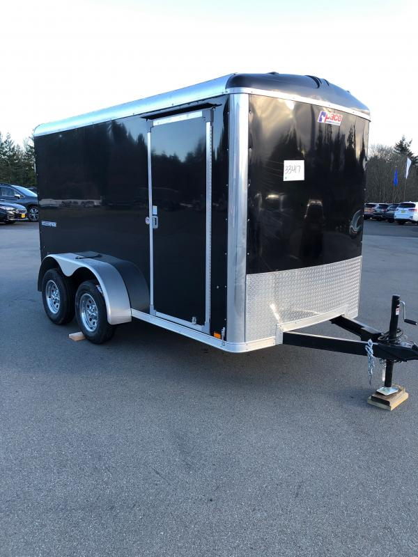 "2021 Pace American Cargo Sport 6X12 Tandem Axel High Performance Interior PKG Screwless Exterior 6"" Additional Height"