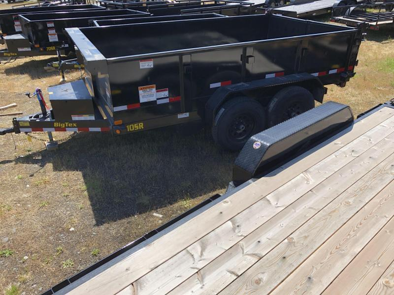 2021 Big Tex Trailers 10SR-12XL With Slide In Ramps Dump Trailer
