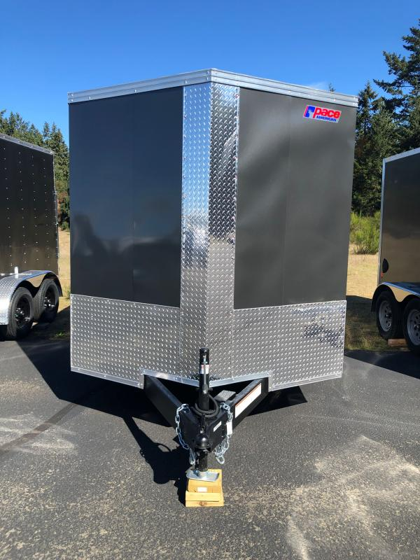 """2022 Pace American Journey 7x14 W/6"""" Additional Height  Enclosed Cargo Trailer"""
