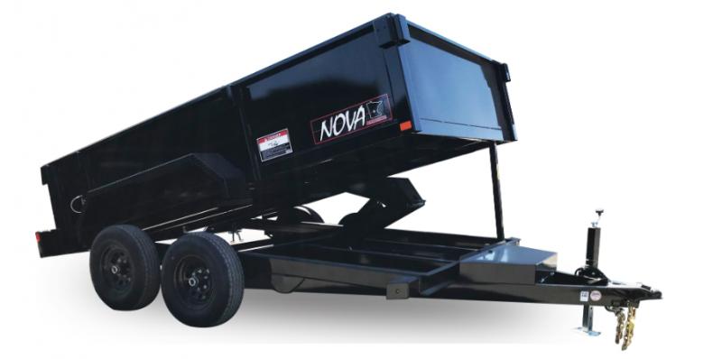 2021 Midsota DT82-10K DT-14 Dump Trailer