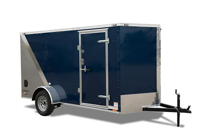 "2021 Cargo Mate E-Series 6x10 W/6"" Additional Height 2-Dome Lights with Wall Switch Enclosed Cargo Trailer"
