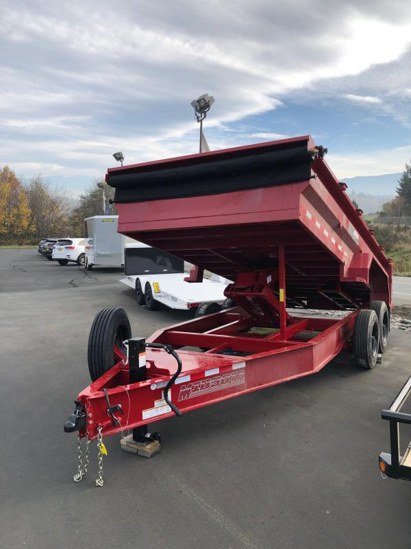 2021 Midsota HVHD 6.11 x 16 Dump Trailer W/17600 GVWR Rating