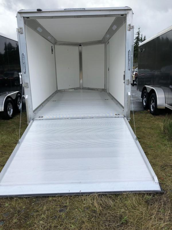 2021 Aluma AE714TA 7x14 w/ Executive PKG Enclosed Cargo Trailer