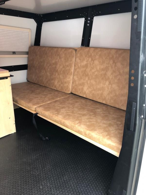 2021 Taxa Outdoors Mantis  W/ Folding Couch/Bunk Bed System and Wet Bath w/shower and Cassette Toilet Travel Trailer RV