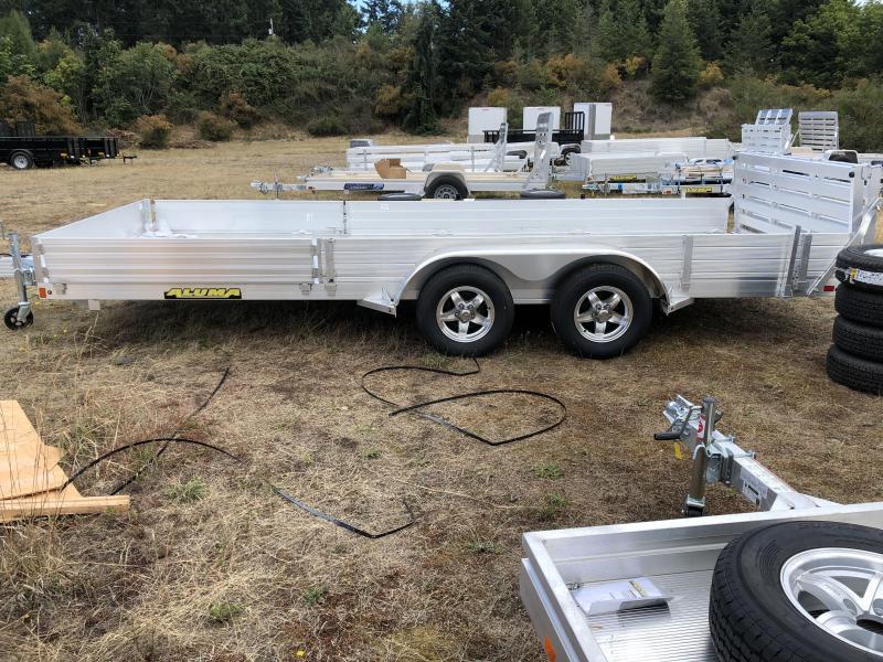 2020 Aluma 8118TASR Utility Trailer
