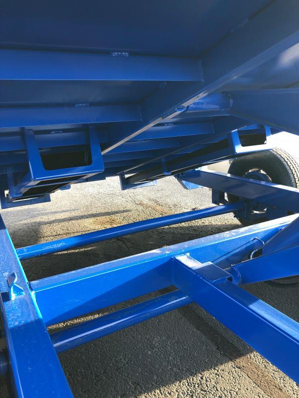 2021 Midsota HV-14 Dump Trailer W/ Hydraulic Jack, Solar Charging Panel, Side door, 3 way gate, Alloy Wheel PKG